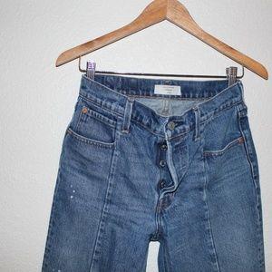Levi's Jeans - High Rise Straight Denim
